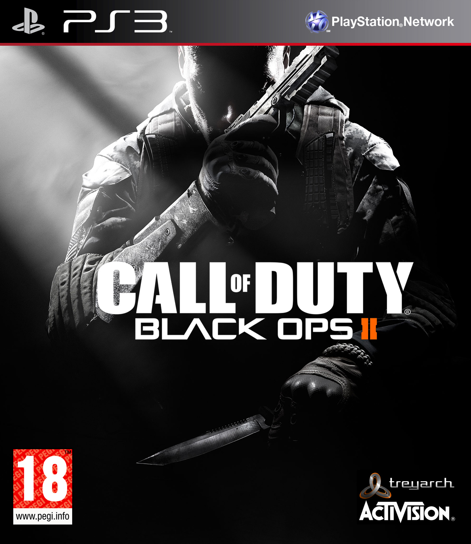 Caratula call of duty black ops pc.